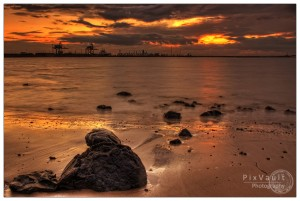 across the tees bay - north east photography